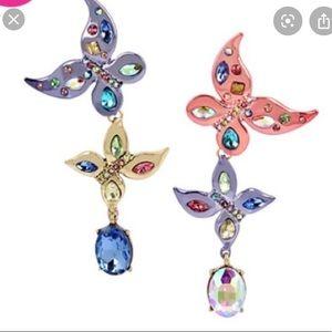 Betsey Johnson butterfly earrings 🦋